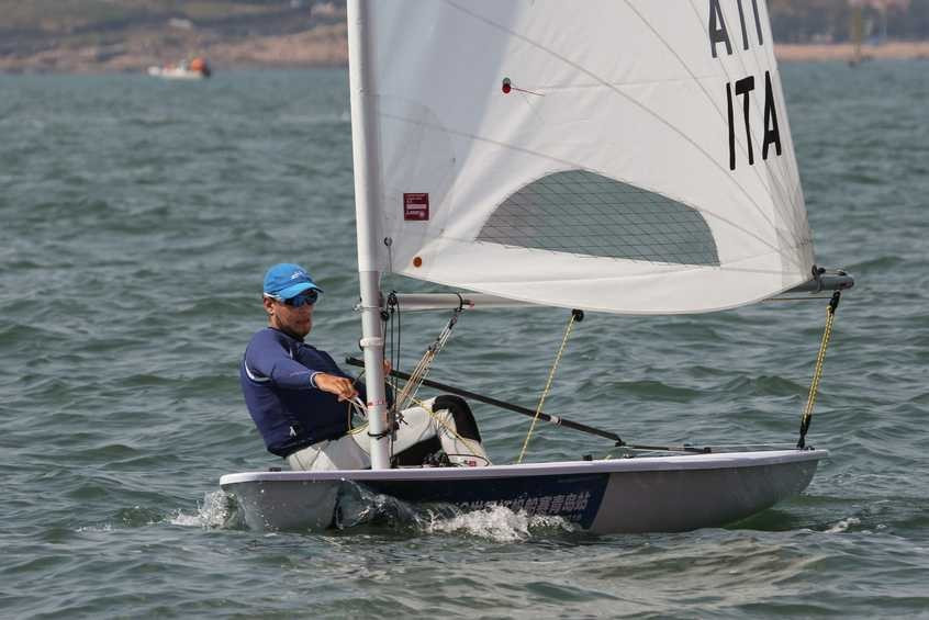 Olympic silver medallist Stipanovic retains laser lead on day two of Sailing World Cup in Qingdao