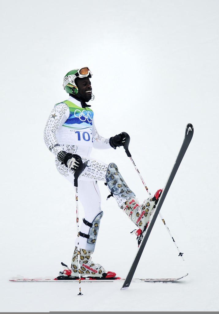 Kwame Nkrumah-Acheampong is Ghana's only  Winter Olympian to date ©Getty Images