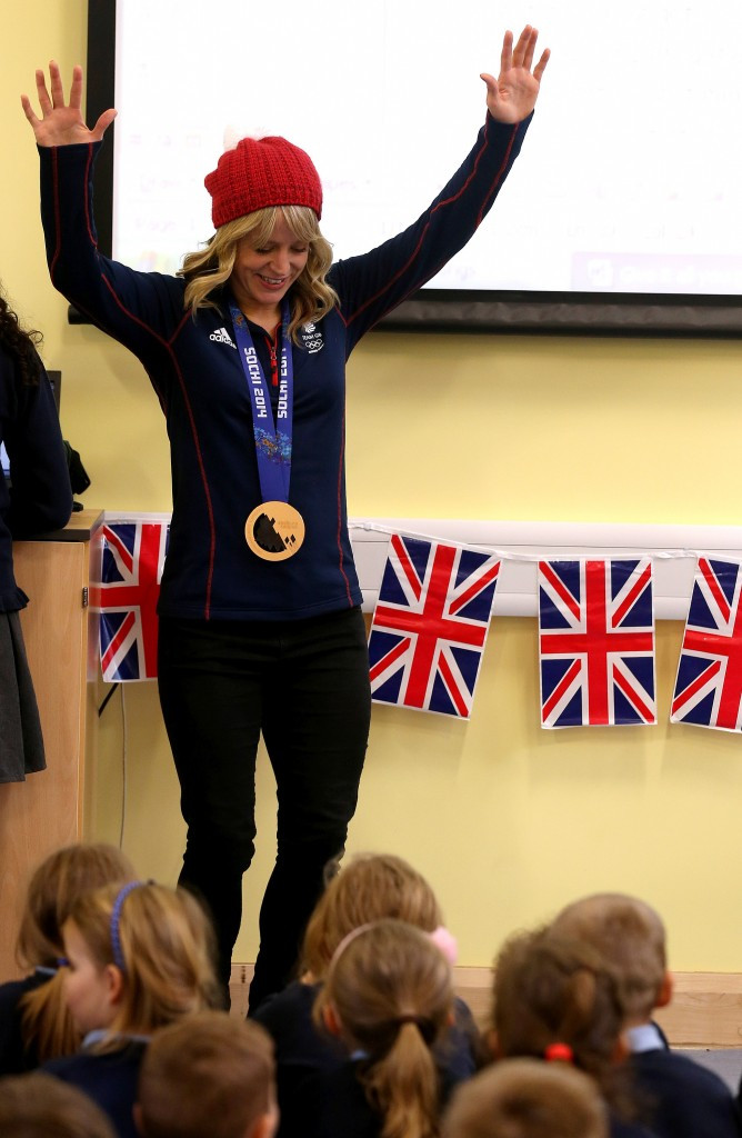 Jenny Jones won Britain's first Olympic medal on snow at Sochi 2014 ©Getty Images