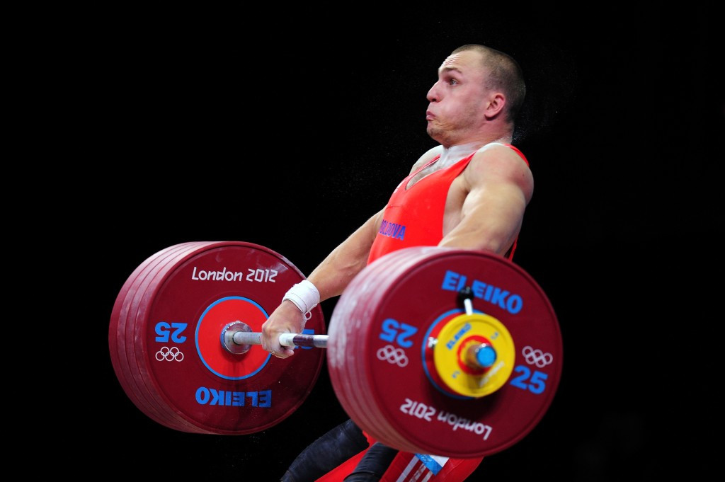 Six of the top eight from the London 2012 men's 94kg have now tested positive following re-tests, including Moldova's Anatoli Ciricu, who had originally won the bronze medal ©Getty Images