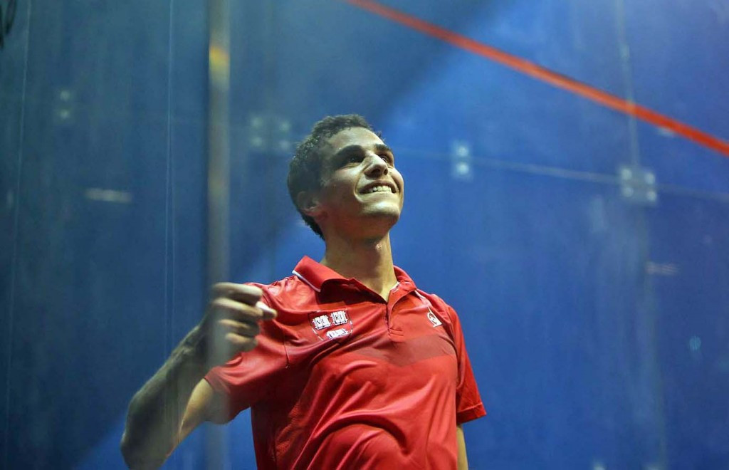 Farag beats world number one Elshorbagy at Al Ahram Squash Open
