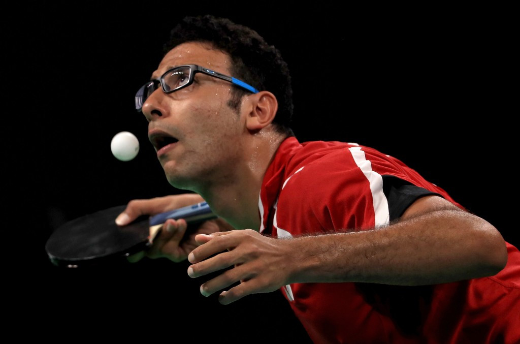 Top seed Omar Assar of Egypt has crashed out of the ITTF Belgium Open ©ITTF
