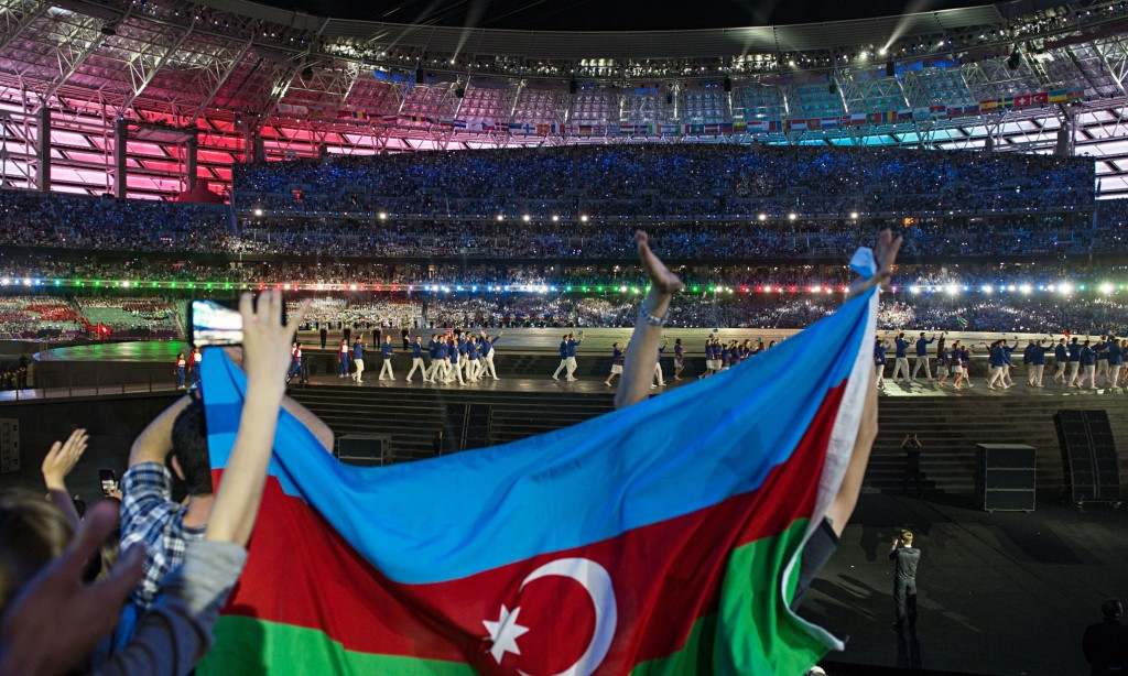 Baku in Azerbaijan hosted the first European Games in 2015 but the future of the event has remained uncertain ©Getty Images