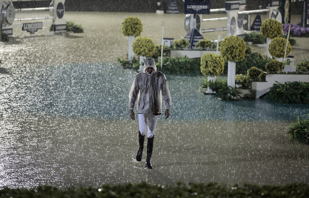 FEI Jumping Challenge Cup Final second round cancelled due to thunderstorms