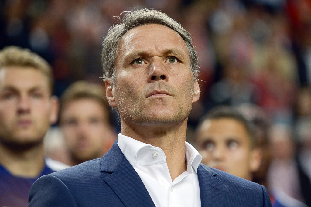 Former Dutch international Marco van Basten will be heading up all technical areas ranging from football technology innovation to refereeing at world governing body FIFA ©Getty Images
