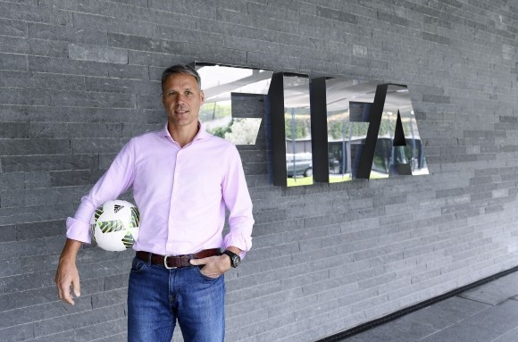 Former Dutch football international Marco van Basten has been appointed as FIFA chief officer for technical development ©FIFA