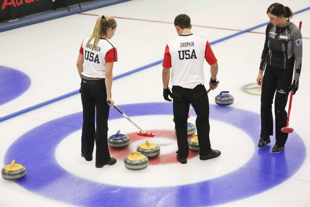 Mixed doubles curling will debut on the Olympic programme in Pyeongchang ©Getty Images