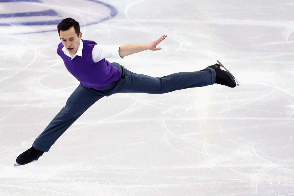 Triple figure skating world champion Chan unveils new coaching line-up