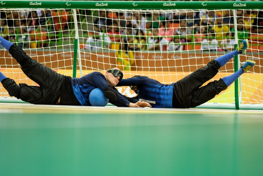 Goalball provided a major talking point at the Rio 2016 Paralympics  ©Getty Images