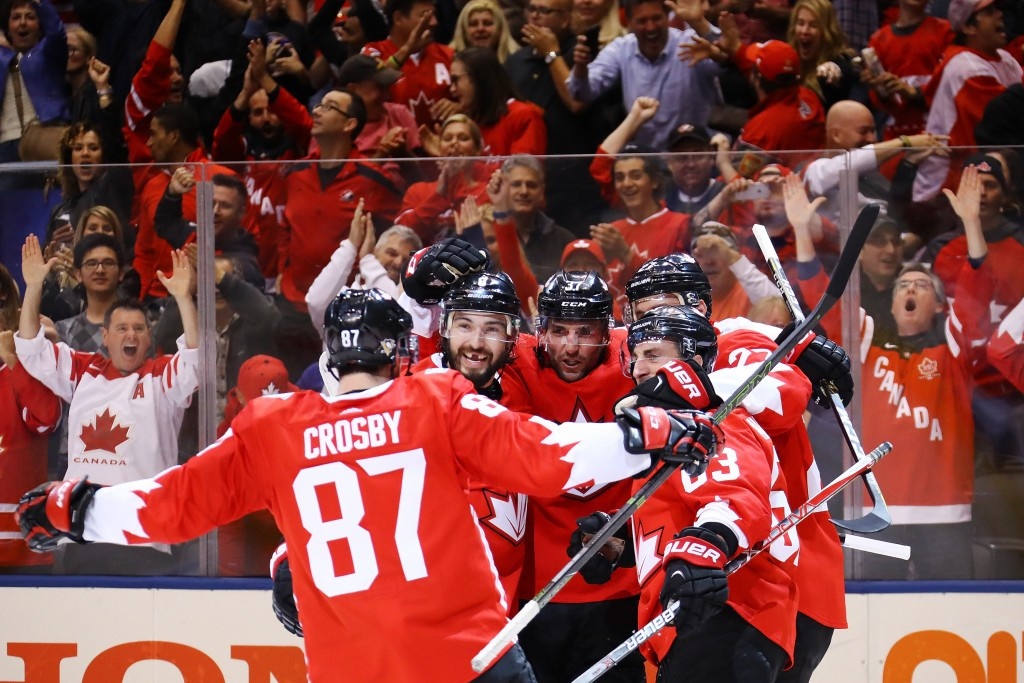 Crosby inspires hosts Canada to World Cup of Hockey finals