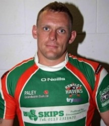 Lee Mapals has been banned for four years for testing positive for illegal steroids ©Hunslet Hawks