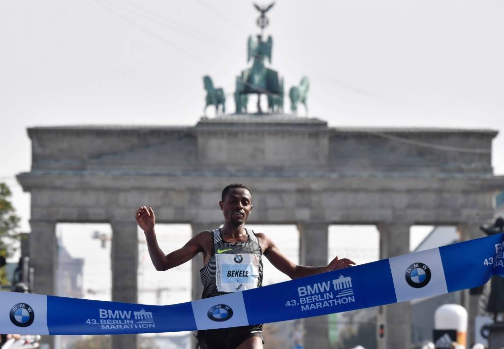Bekele wins Berlin Marathon with second quickest time on record
