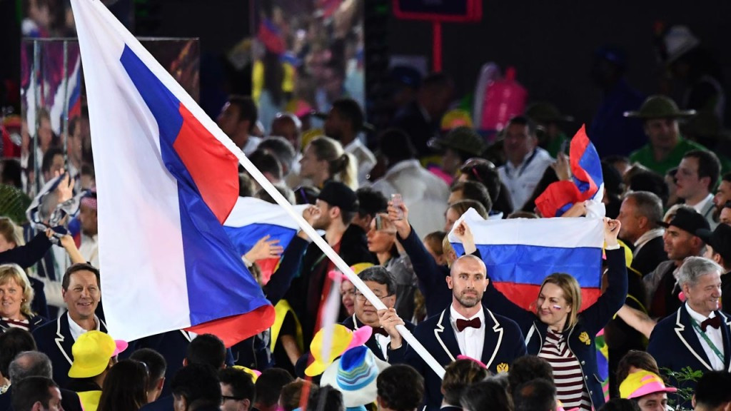 Russia's participation in the Olympics at Rio de Janeiro had been in doubt following the publication of the McLaren Report but the IOC refused to impose a blanket ban ©Getty Images