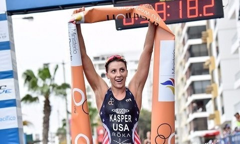 Kasper and Castro win first-ever ITU World Cup gold medals in Salinas