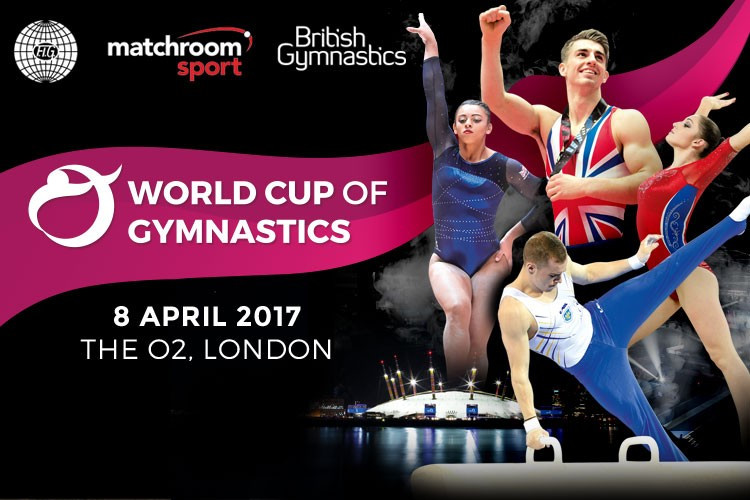 London to host FIG World Cup of Gymnastics event in 2017