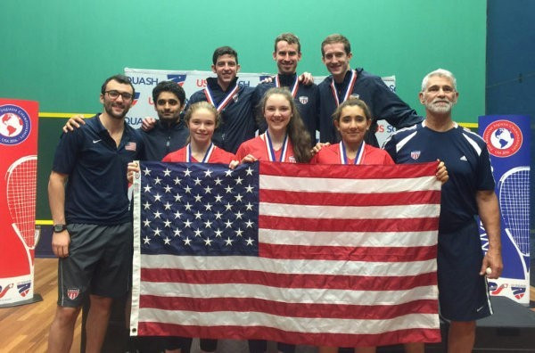 Hosts United States win three titles at Pan-American Squash Championships
