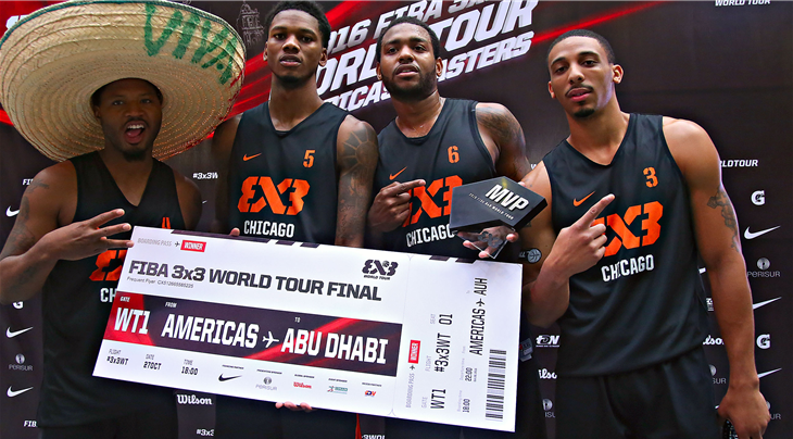Chicago win 3x3 World Tour Americas Masters to qualify for grand final in Abu Dhabi