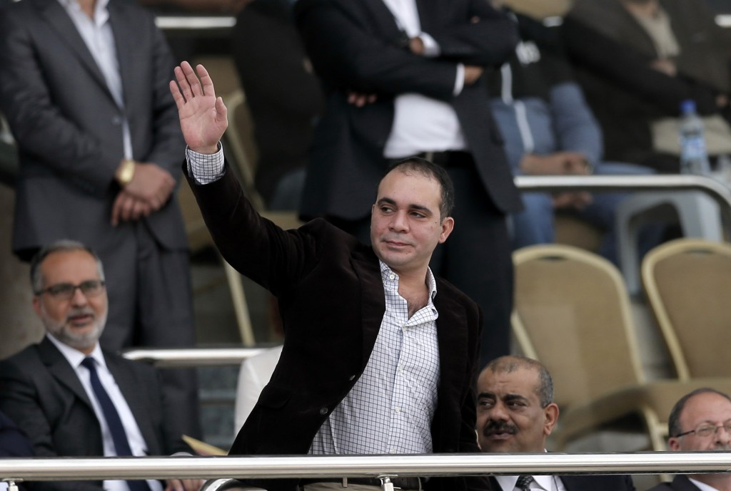 Jordan Football Association President Prince Ali Bin Al Hussein has described the scrapping of the taskforce as shameful ©Getty Images