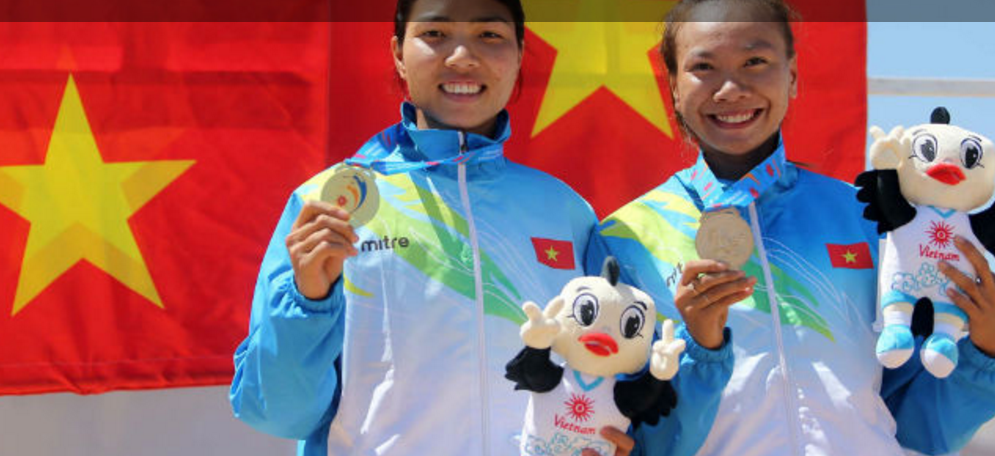 Oman sprinter dazzles as Vietnam enjoy another day of success at Asian Beach Games