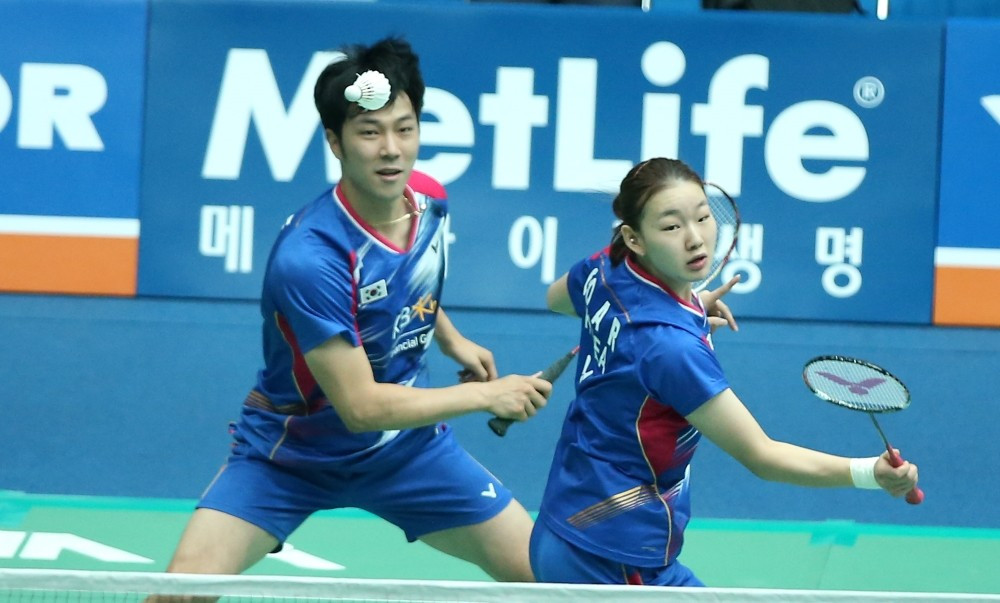 South Korea enjoy success on opening day of BWF Victor Korea Open in Seoul
