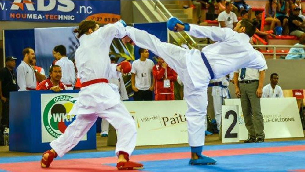 The Oceania Karate Championships in Nouméa attracted 400 athletes from nine countries ©WKF