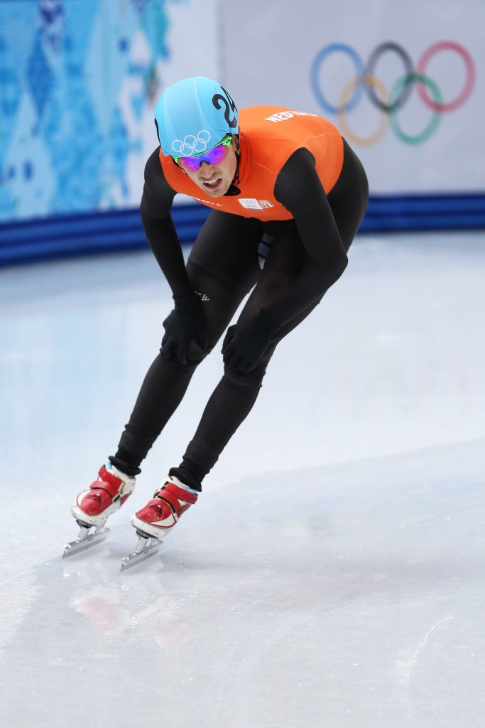 Niels Kerstholt pictured competing at the Sochi 2014 Winter Olympic Games ©Getty Images