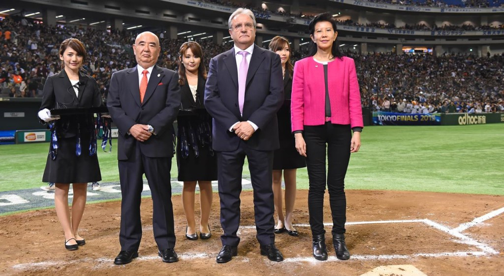 WBSC President Fraccari discusses Olympic inclusion with Nippon Professional Baseball owners