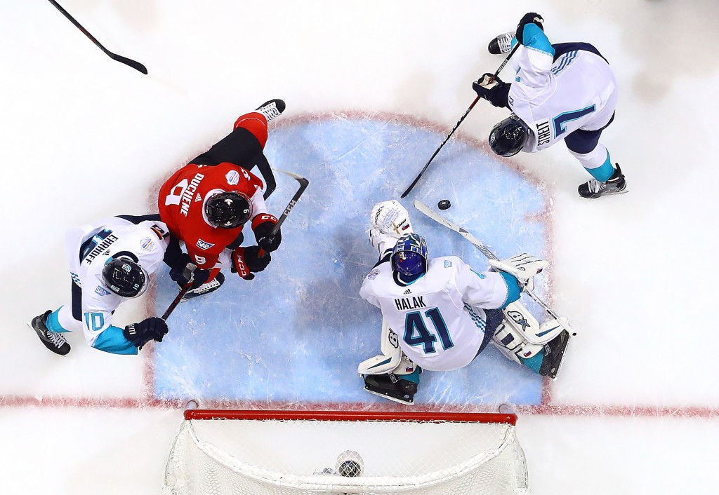 Canada battle past Europe to win World Cup of Hockey finals opener