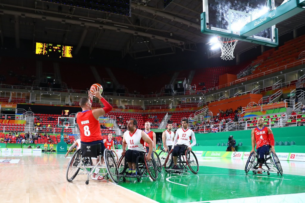 British Wheelchair Basketball chief executive hails contribution of retiring Munn