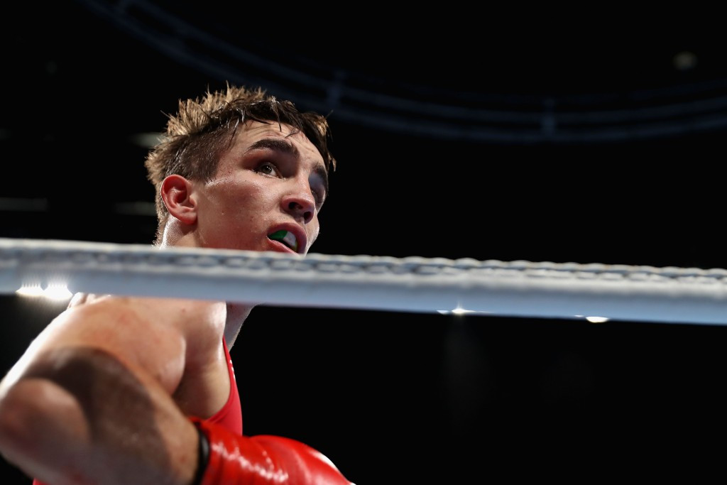 "Michael Conlan is one of three boxers to be given a ""severe reprimand"" by the IOC ©Getty Images"