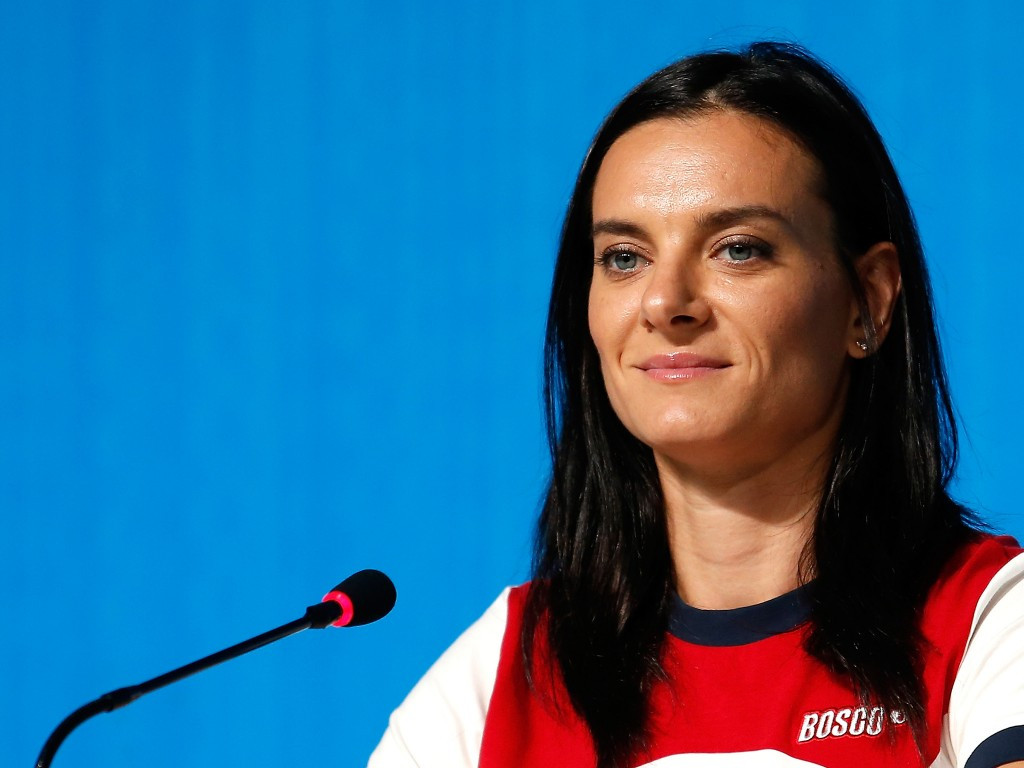 Yelena Isinbayeva has formally announced plans to stand for election as President for All-Russia Athletic Federation ©Getty Images