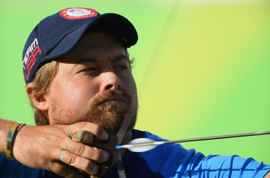 Ellison leads way on opening day of qualification at World Archery Field Championships