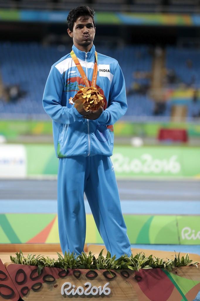 Varun Singh Bhati won high jump bronze at the Rio 2016 Paralympics ©Getty Images