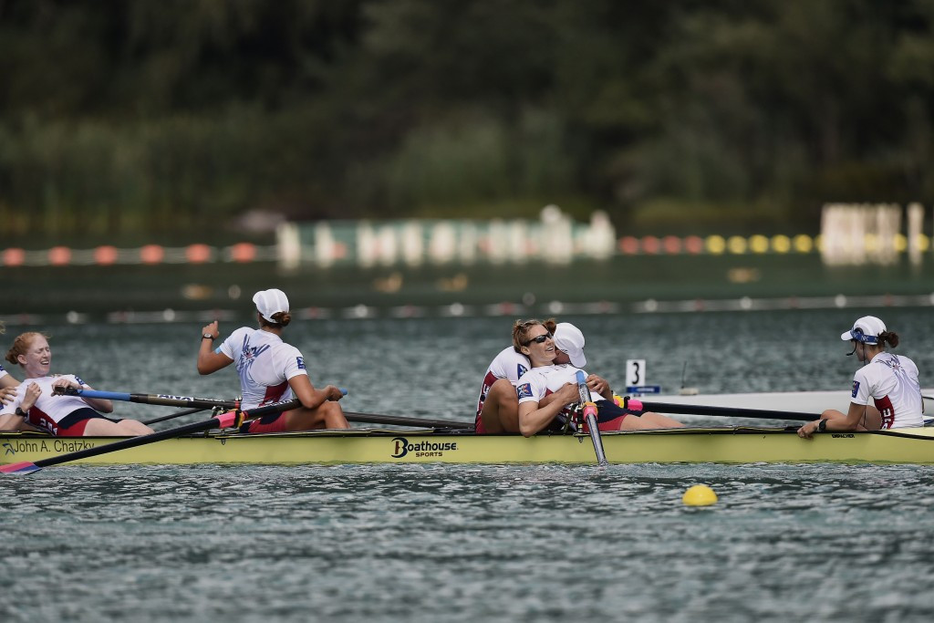 World Rowing have agreed a four-year renewal of a media rights deal with the European Broadcasting Union ©Getty Images