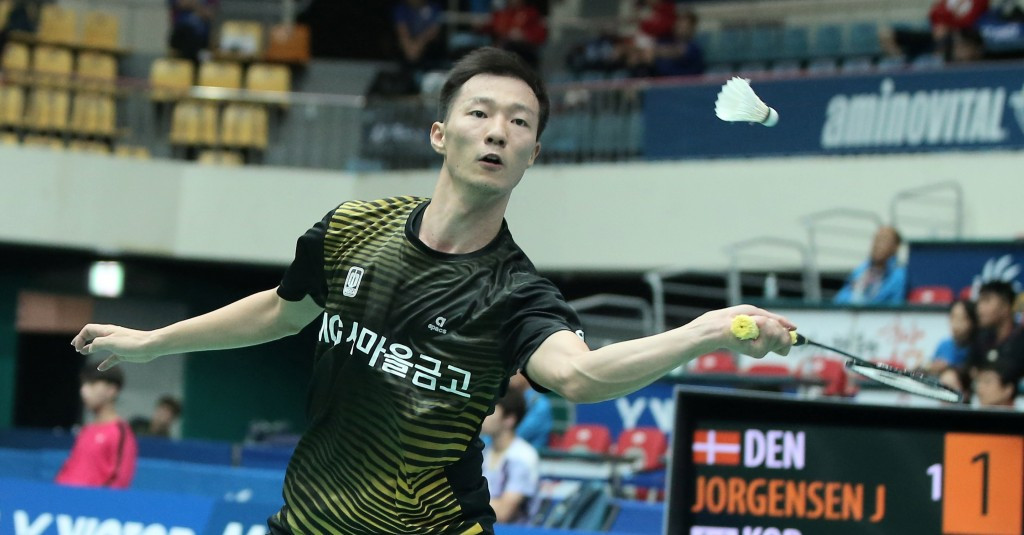 Home favourite stuns third seed Jorgensen to reach quarter-finals of BWF Victor Korea Open