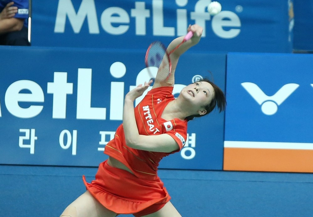 Japan's Minatsu Mitani reached the quarter-finals of the women's singles competition ©BWF
