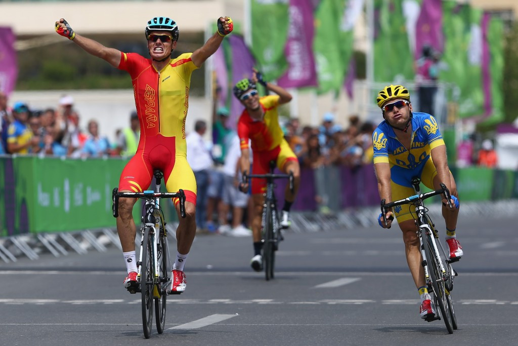 Super Sanchez sprints to Baku 2015 European Games men's road race gold