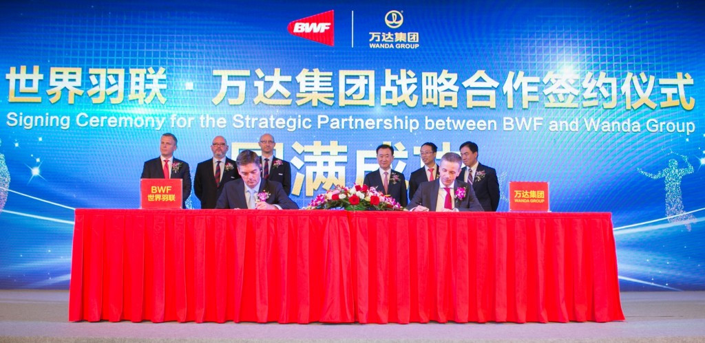 BWF announce deal with Chinese company for distribution of media and sponsorship rights
