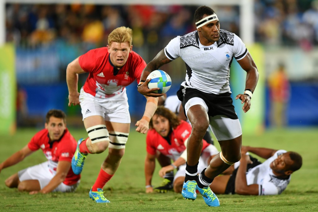 The success of rugby sevens' Olympic debut at Rio 2016, where Fiji claimed a superb men's title, is a source of inspiration for FIBA ©Getty Images