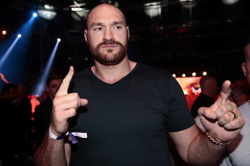 Tyson Fury needs time away from boxing  ©Getty Images