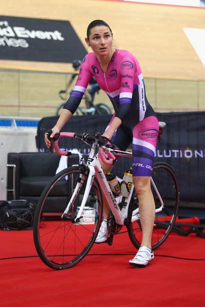 Sarah Storey attempted the able-bodied hour record ©Getty Images