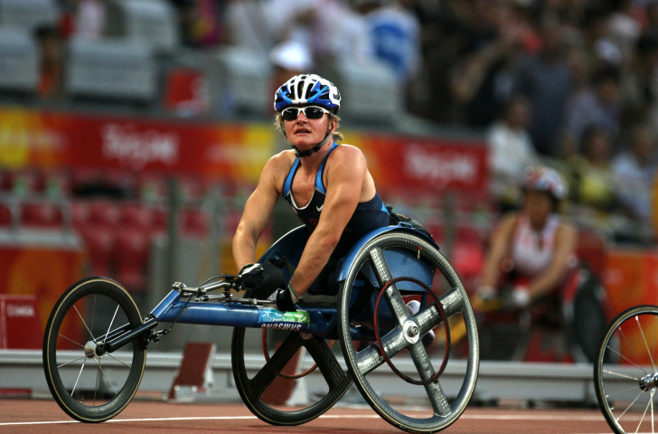 The United States' three-time Paralympian Cheri Blauwet will also speak at the event