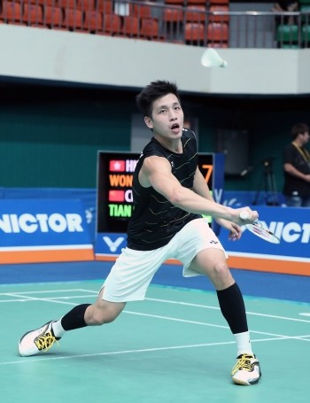 Wong continues success at BWF Victor Korea Open by reaching second semi-final in three years