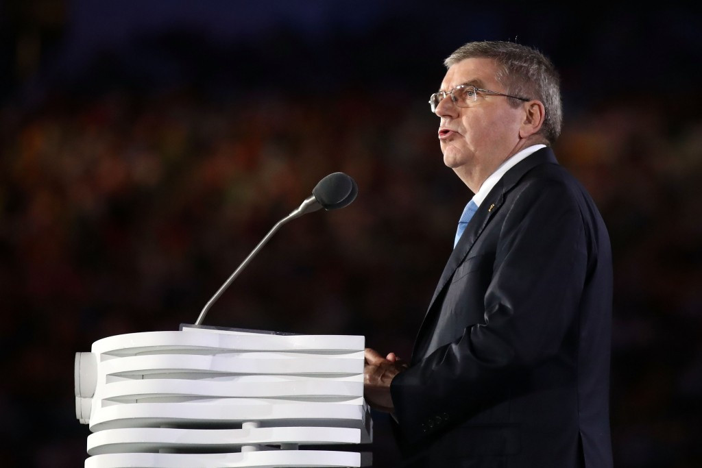 Thomas Bach is due to visit Rome next week, but will meet Paris 2024 officials this weekend ©Getty Images