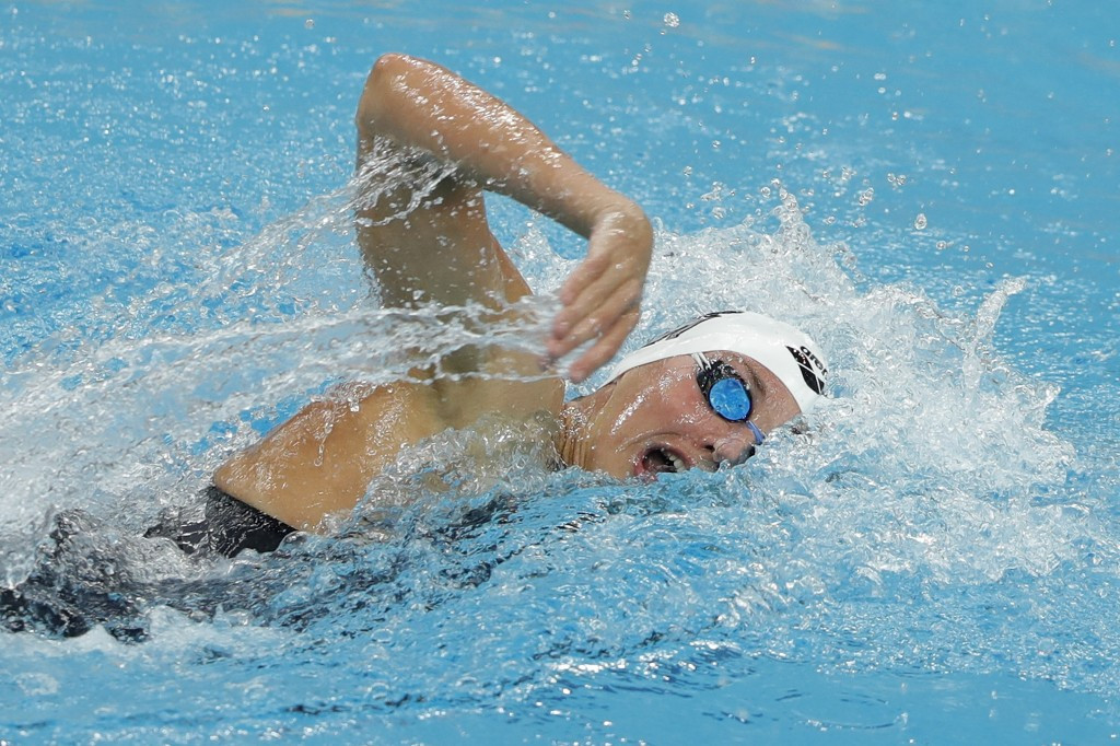 Hosszú claims hat-trick of gold medals on opening day of FINA Swimming World Cup in Beijing