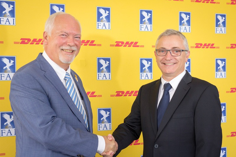 World Air Sports Federation seal four-year deal with logistics provider DHL