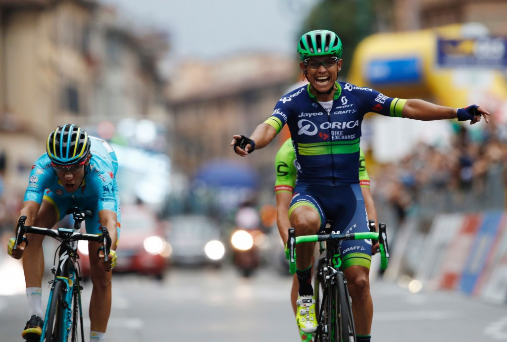 Esteban Chaves won the season-ending Il Lombardia ©Getty Images