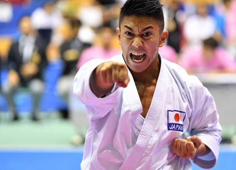 World champion Kiyuna leads home Japanese clean sweep on opening day of WKF Karate1 Premier League finale in Okinawa