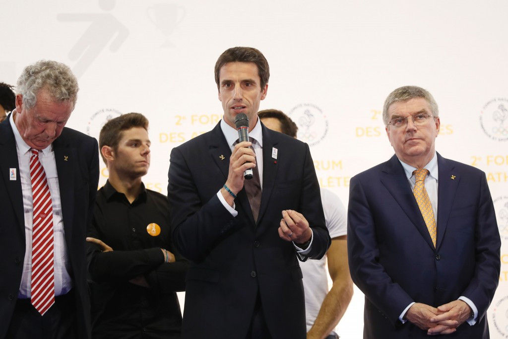 Tony Estanguet has claimed he does not see how it could be possible for Paris 2024 to suffer a spiralling budget should they be awarded the Olympic Games ©Getty Images