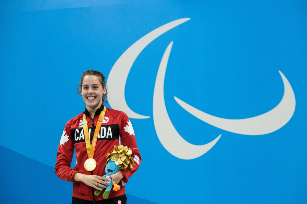 Rivard among Paralympians recognised at Swimming Canada awards